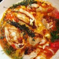 Pyszny kurczak w sosie, na obiad