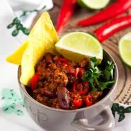 Słynny meksykański sos chilli con carne. Jeden dodatek sprawia, że nabiera charakteru. PRZEPIS