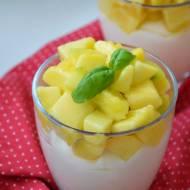 Deser z mango i Malibu