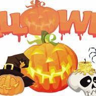 Halloweenowa sałatka