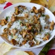 Ryż z kurkami
