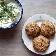 Kotlety mielone z pieczarkami i brokułem