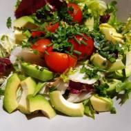Sałatka z awokado – obniża cholesterol!