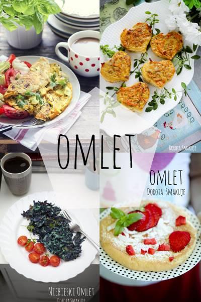 Omlet – 35 przepisów na pyszne omlety