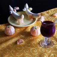 Halloweenowe smoothie czerwone jak krew