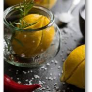 Kiszone cytryny z rozmarynem i chili