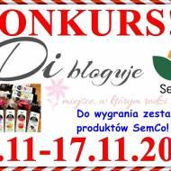 Konkurs - Di bloguje & SemCo - do wygrania zestaw 4 olejów