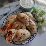 Mini Calzone z mięsem mielonym i oliwkamk