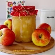 Prażone jabłka na zimowe zapasy