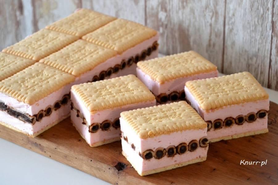 Ciasto piankowa kanapka