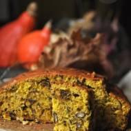 Ciasto dyniowe z czekoladą i orzechami