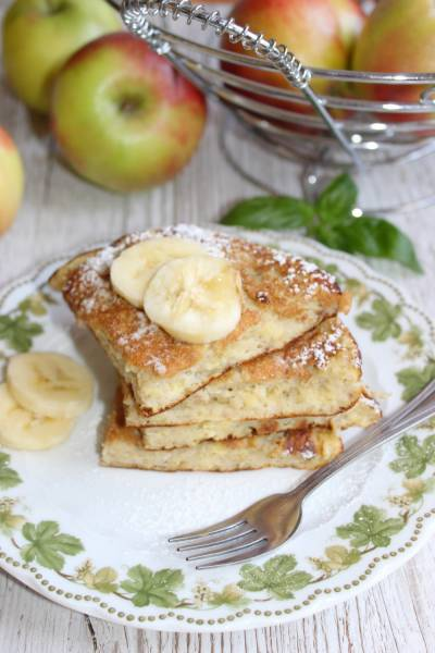 Fit omlet bananowy