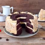 Czekoladowe ciasto z solonym karmelem