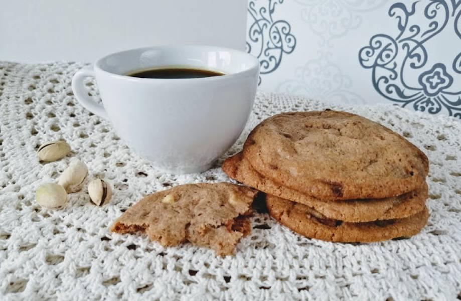 Ciasteczka z mleczną czekoladą