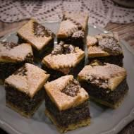 Makowiec z kaszą manną – kuchnia podkarpacka