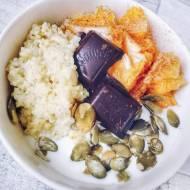 Jaglanka z czekoladą i pomarańczą