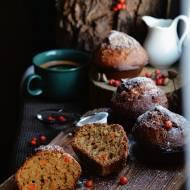 Z ŁĄKI NA TALERZ: Muffiny z jarzębiną