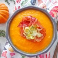 Zupa dyniowa z porem (Vellutata di zucca e porri)