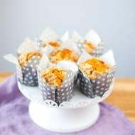 Muffinki dyniowe z orzechową kruszonką