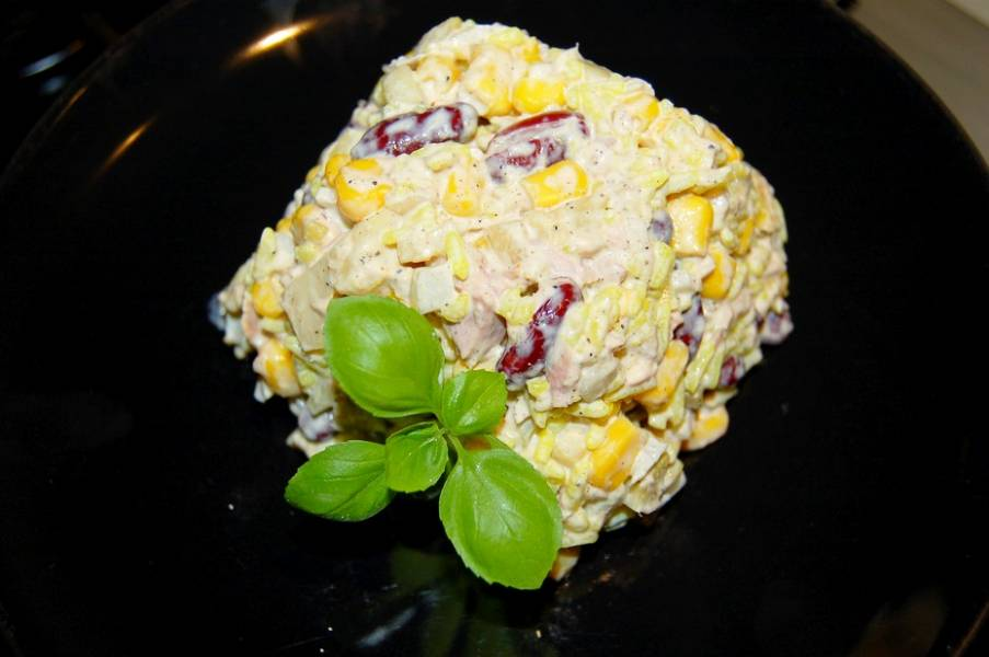 Marokańska sałatka z tuńczykiem