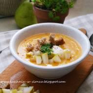 Jesienna zupa krem z brukwi