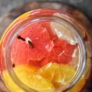 Nalewka z cytryn, grejpfrutów i pomarańczy