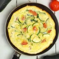 Frittata – przepis na włoski omlet z cukinią