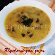 Błyskawiczna zupa pieczarkowa  wg Aleex