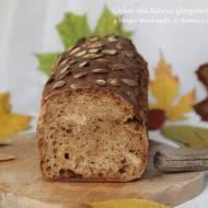 Chleb na kawie zbożowej i zakwasie bez zagniatania