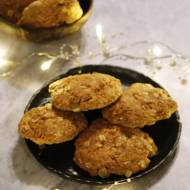 Mocno kokosowe ciasteczka owsiane