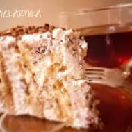 Tort serowo - kawowy spiralkowy
