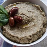 BABA GHANOUSH - pasta z pieczonego bakłażana i sezamu