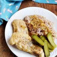 Filet w sosie musztardowym