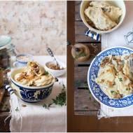 Pierogi z pęczakiem i grzybami / Dumplings with pearl barley and mushrooms