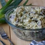 Sałatka ryżowa z karczochami i pieczarkami