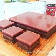Chrupiąca czekolada z owocowym sokiem