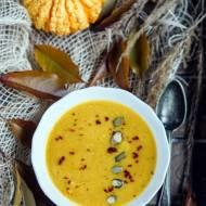 Krem z dyni piżmowej z curry