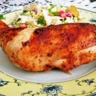Kurczak  marynowany w imbirze, czosnku  i cytrynie, czyli sposób na aromatyczny obiad.