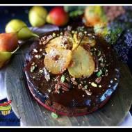 Meksykańskie  ciasto z polewą czekoladową