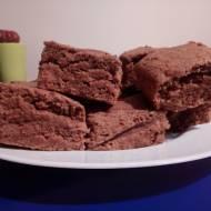 Ciasto czekoladowo-bananowe bez jajek