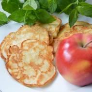 Racuchy na kefirze z jabłkami