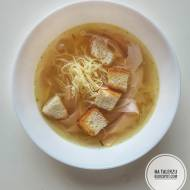 Czeska zupa czosnkowa (česneková polévka)