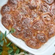 Ślimaczki cynamonowe z migdałami