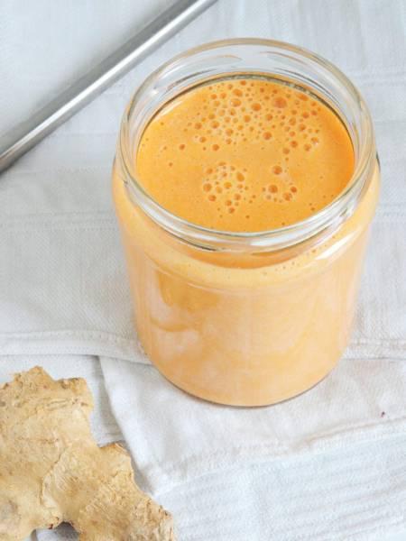 Potreningowe marchewkowe smoothie
