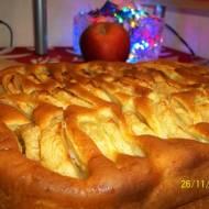 Norweskie ciasto z jabłkami