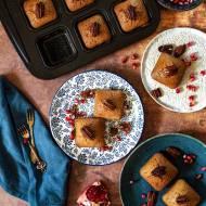 Muffiny marchewkowe z orzechami