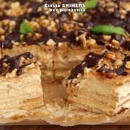 Ciasto SNIKERS - bez pieczenia