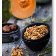 Dyniowa granola z figami i cytryną
