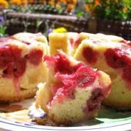 łatwe ciasto ucierane z wiśniami