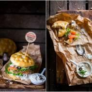 Sandwiche z mini foccacii / Sandwiches with mini foccacia